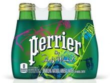 Cерия воды Perrier в память Энди Уорхолу