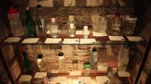 Коллекция воды в Лондонском Музее воды