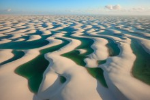 Вода из дюн