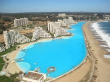 Самый большой бассейн в мире San Alfonso del Mar