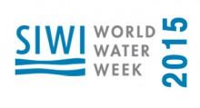 Всемирная неделя воды в Стокгольме - 2015