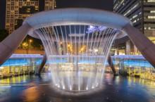 Фонтан Богатства (Fountain of Wealth) в Сингапуре