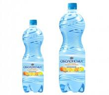 Новая вода «Оболонская» с вкусом лимона и апельсина