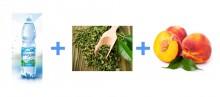 Вода Прозора с экстрактом зеленого чая и вкусом персика
