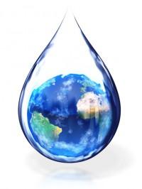 Если всю воду равномерно распределить по поверхности Земли, то глубина водного покрова будет составлять 3.7 м