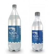 Вода природная питьевая газированная первой категории АКВАСТАР