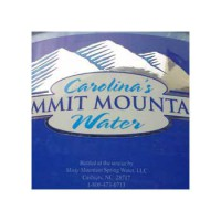 Этикетка Caroline Mountain Water