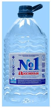 Вода Питьевая №1 производится на основе минеральной лечебно-столовой воды Аксинья