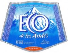 Этикетка Eco de los Andes