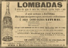 Этикетка Lombadas