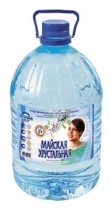 Вода минеральная питьевая столовая Майская Хрустальная