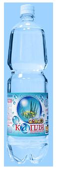 Лечебно-столовая натуральная минеральная вода - Капля живой воды