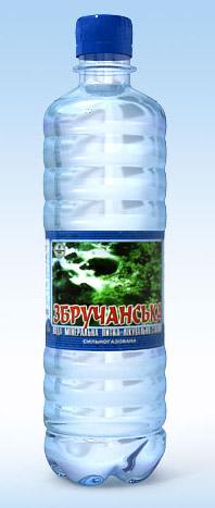 Збручанская, лечебно-столовая минеральная вода