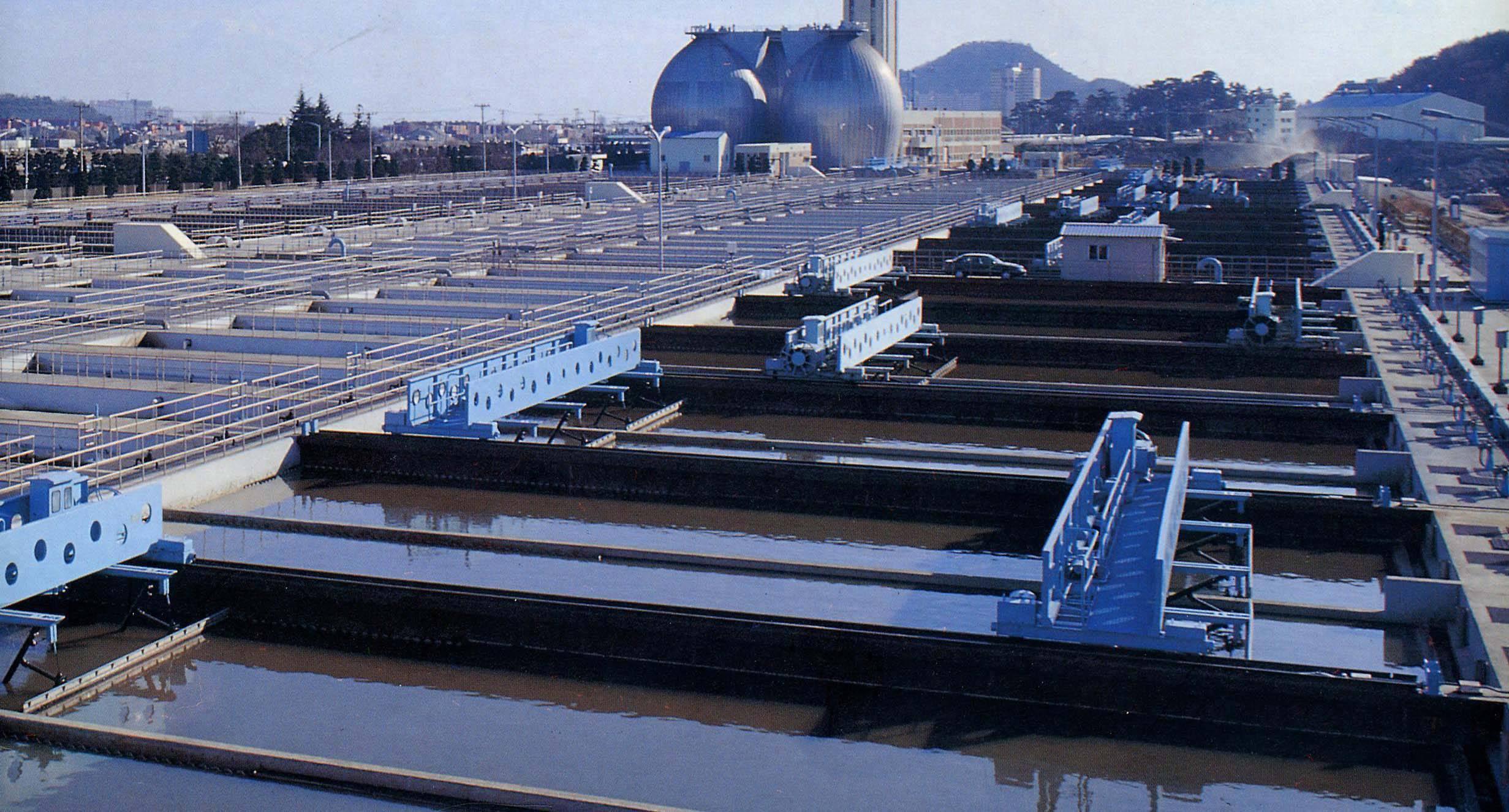 Сооружение для отчистки воды